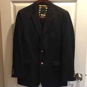 Young Men's Black Blazer